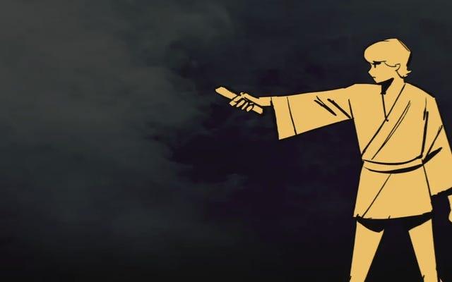 スターウォーズの新しいアニメーション短編の背後にあるスタジオが映画の明るい側面をどのように実現するか