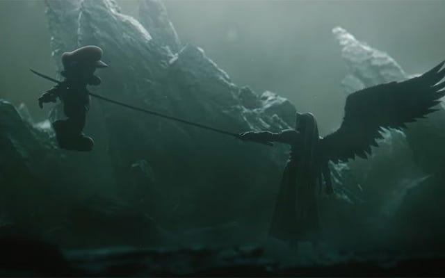 जीसस क्राइस्ट, निन्टेंडो, सेपिरोथ किसी को मारने के लिए जा रहे हैं