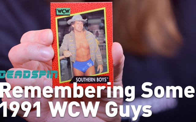 Let's Remember Some Guys: 1991 WCW Guys