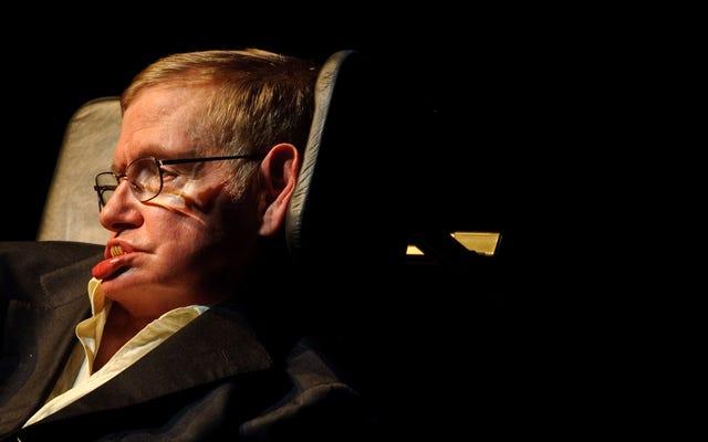 Le dernier commentaire de Stephen Hawking sur Reddit est une réflexion obsédante sur la technologie et le chômage