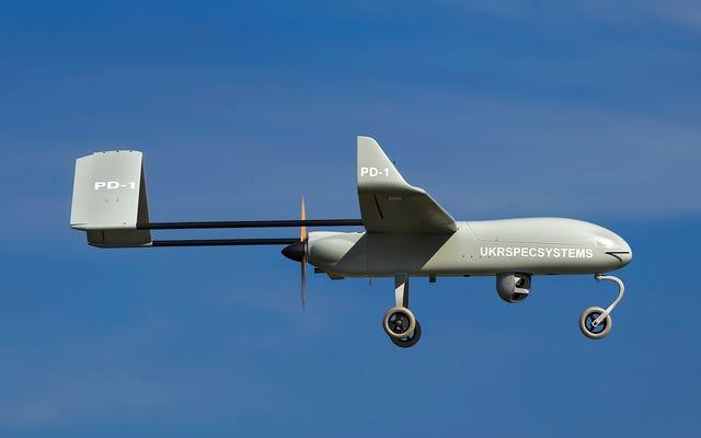 Niekonwencjonalne podejście Ukrainy do walki z dronami narodziło się z konieczności