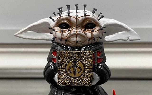 Qué vistas para mostrarte, Pinhead Baby Yoda tiene