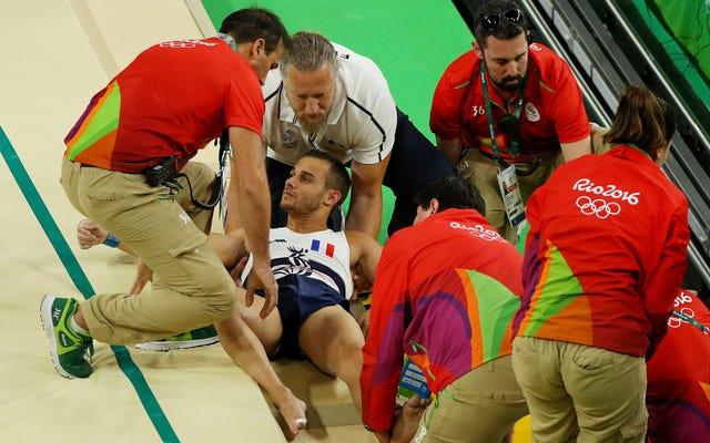 リオで恐ろしいレッグブレイクに苦しんだフランスの体操選手がカムバックしている