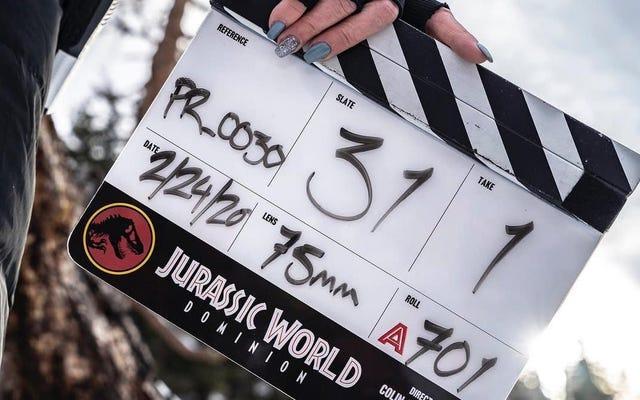 И название Jurassic World 3 ...