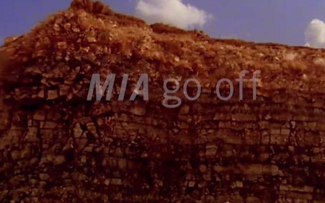 地球は彼女の新しいビデオでMIAの「GoOff」のビートに移動します