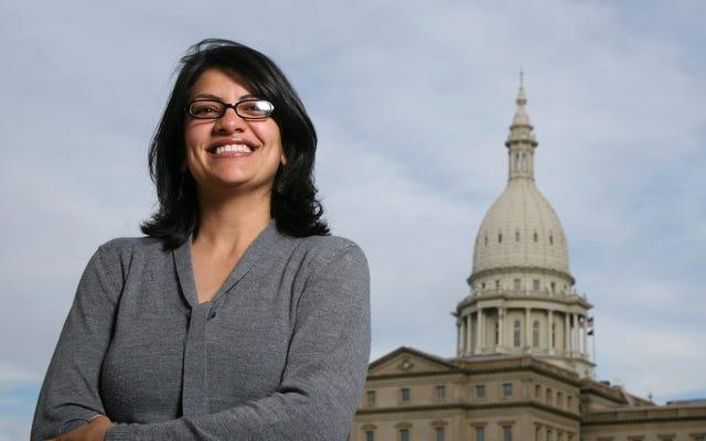 La démocrate du Michigan, Rashida Tlaib, prête à devenir la première femme musulmane au Congrès