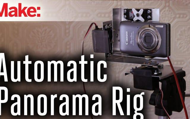 高品質のパノラマ写真を撮影するための電動カメラリグを構築する