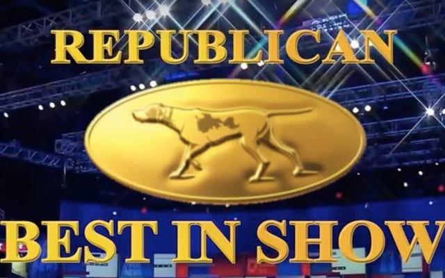共和党大統領選挙討論会、しかしドッグショーとして
