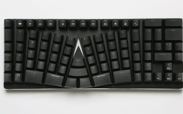 この奇妙な反ったキーボードは実際に多くの意味を成します