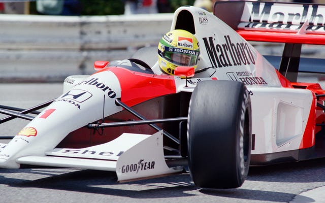 มีชุดเอกสาร Ayrton Senna ใหม่ในผลงาน