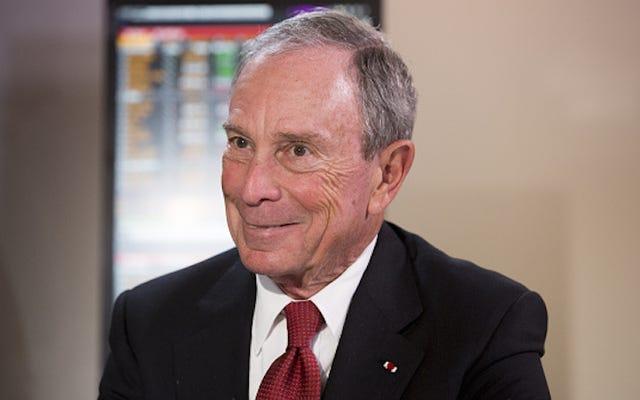 Bloomberg Mengutuk 'Ruang Aman' Selama Alamat Dimulainya, Mendapat Dicemooh