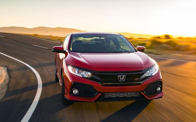 Honda a réduit la puissance de la Civic Si pour que le moteur dure