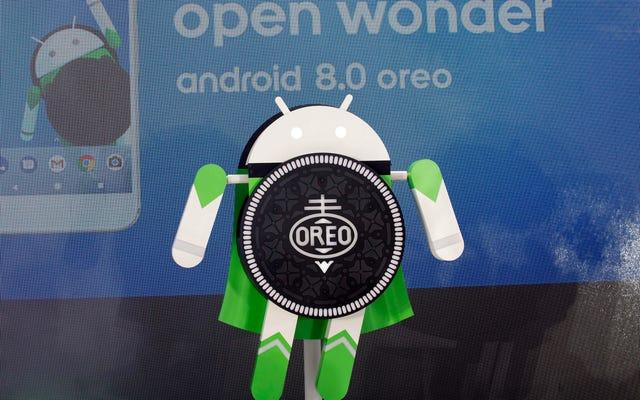 Gelmesinden üç ay sonra kullanıcıların% 1'i bile Android Oreo'ya sahip değil