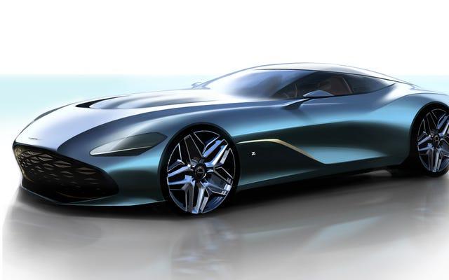 Рендеринг Aston Martin DBS GT Zagato выглядит как гладкая рыба