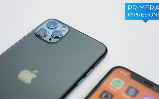 ดูครั้งแรกของ iPhone 11 Pro ใหม่และกล้องสามตัว
