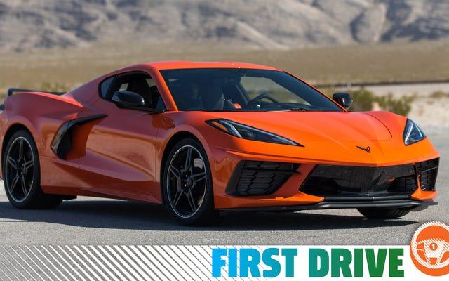 Chevrolet Corvette 2020 не ездит, как другие спортивные автомобили со средним расположением двигателя