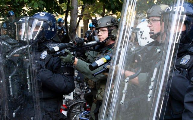 Nie ma sprawiedliwości klimatycznej bez obronienia policji