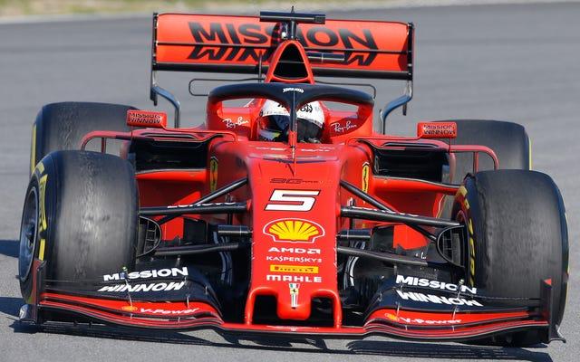 フェラーリのVapingPaintジョブは即座に裏目に出ました