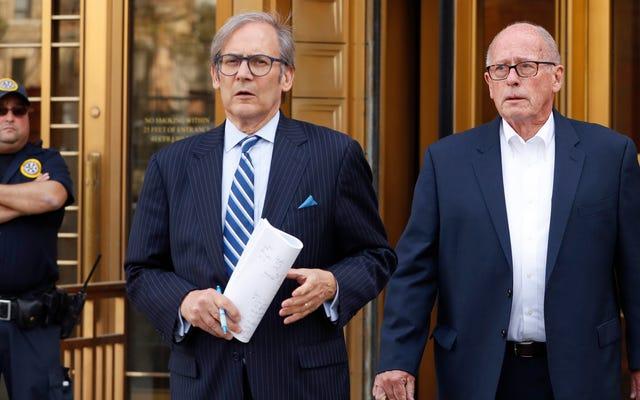 連邦政府は、オピオイド販売業者、最初の種類の事件で2人の幹部に対して刑事告発を提出します