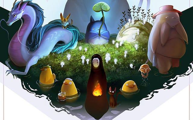 これらの宮崎駿にインスピレーションを得たアート作品は、映画そのものと同じくらい美しいです