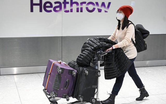 Linie lotnicze ogłaszają odwołanie lotów w związku z epidemią koronawirusa