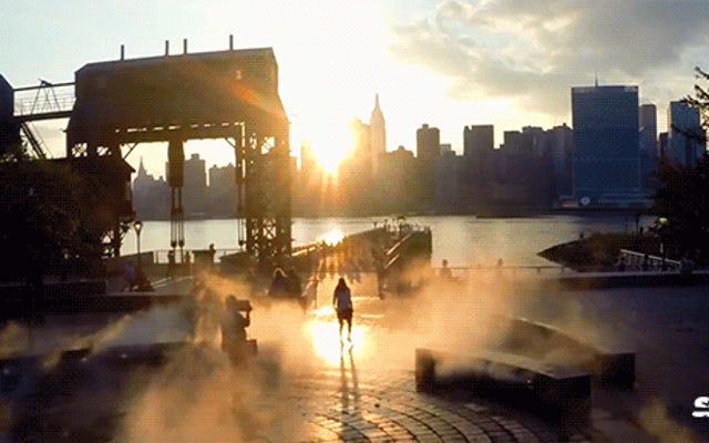 El extraordinario video de un dron es un hermoso retrato de la ciudad de Nueva York