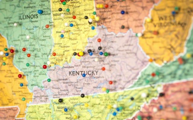 Użyj tej bezpłatnej mapy AAA, aby uzyskać zaktualizowane ograniczenia dotyczące podróży w każdym stanie