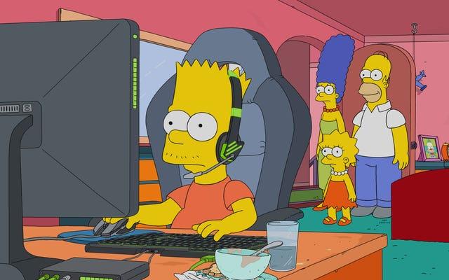 La carrière de Bart dans l'e-sport en fait un voyage familial intrigant mais décevant pour les Simpsons