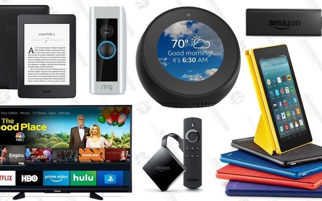 ข้อเสนอสำหรับอุปกรณ์ Prime Day ของ Amazon เริ่มต้นก่อนกำหนดและเป็นประวัติการณ์