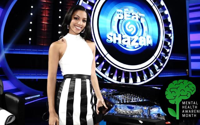 Corinne Foxx ได้รับหมวดหมู่ของเธอเองใน Beat Shazam และพูดคุยเอาชนะความวิตกกังวลของเธอด้วย
