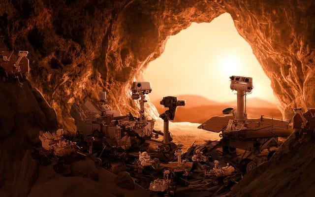 НАСА приветствует помет марсоходов после успешного воспитания настойчивости и любопытства