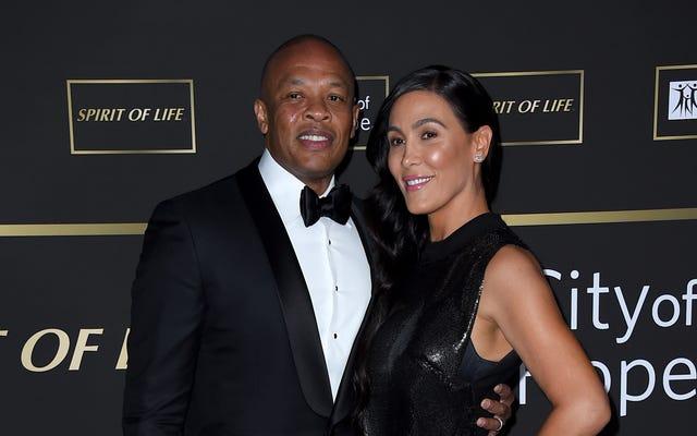 `` Sortez votre main de ma poche '': le Dr Dre fait référence aux procédures de divorce et à l'anévrisme dans une nouvelle chanson