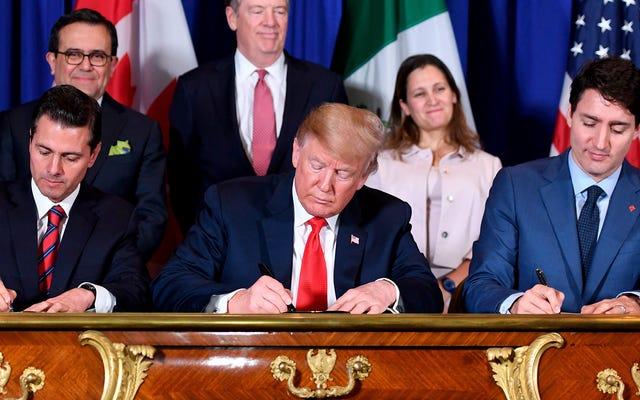 Una guida all'accordo commerciale USMCA