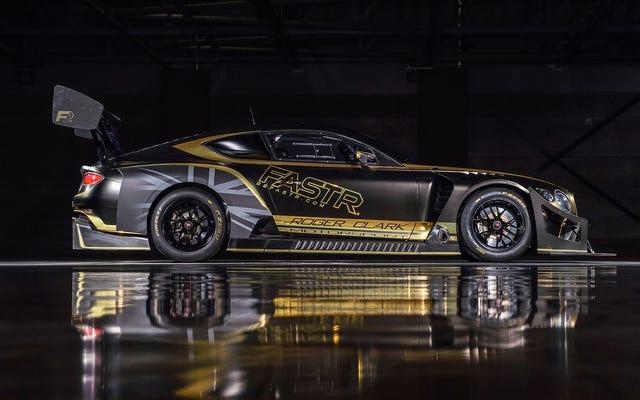 J'ai un os à choisir avec la voiture de course Pikes Peak de Bentley