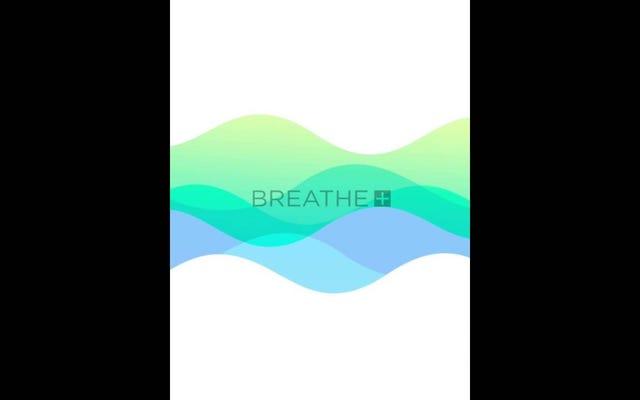 Breathe for iPhone vous guide à travers des exercices de respiration et de relaxation