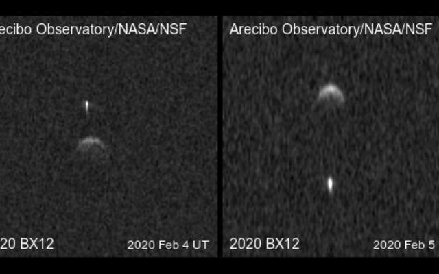 Un asteroide cercano a la Tierra se activa y resulta ser dos asteroides colgando juntos