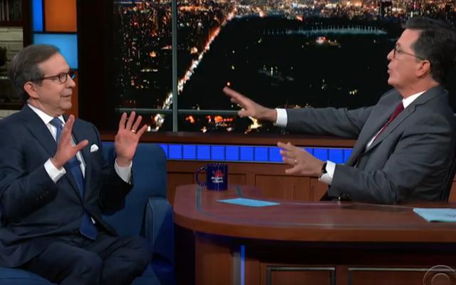 Stephen Colbert dan Chris Wallace dari Fox menjadi panas karena memperdebatkan kesaksian Mueller
