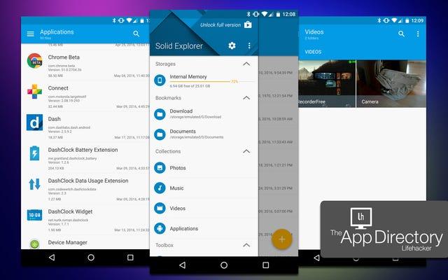 Android için En İyi Dosya Yönetimi Uygulaması