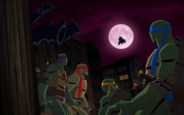 Darren Criss et Rachel Bloom pour diriger Batman Vs. Film d'animation Teenage Mutant Ninja Turtles