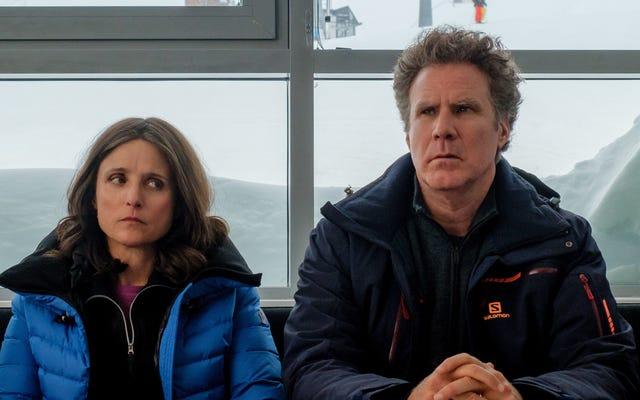 È tutto in discesa per Will Ferrell e Julia Louis-Dreyfus nel remake di Force Majeure
