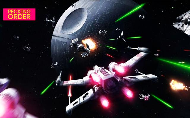 Sortujmy gry Star Wars Space Combat od najgorszych do najlepszych