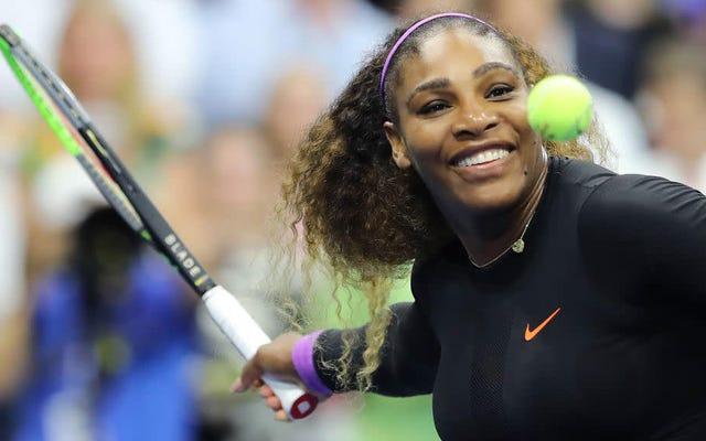 अमेरिका ओपन सेमीफाइनल में एलीना स्वितोलिना की ट्रेंचिंग के बाद टेनिस इतिहास बनाने में सेरेना विलियम्स की आंखें