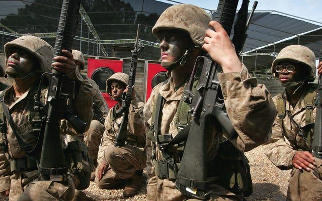 В Корпус морской пехоты впервые попадает женщина-пехотинец [Исправлено]