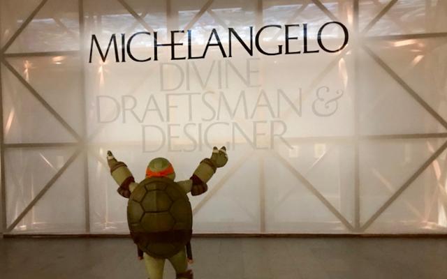 Một Michelangelo vĩ đại gặp một người khác