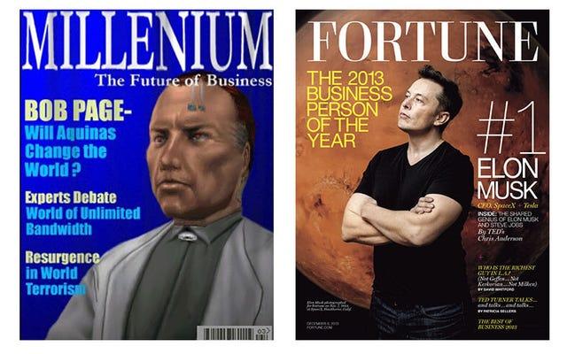 インターネットは、イーロン・マスクがJCデントンではなく、デウスExのトリリオネア悪役であることに同意します
