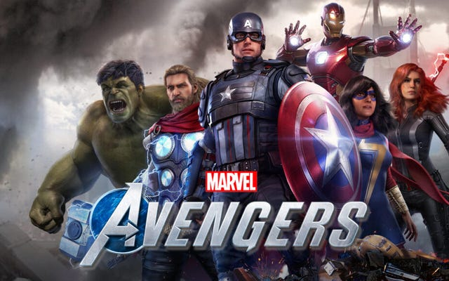 Earth's Least Imaginative Heroes: Marvel's Avengers Game は圧倒される