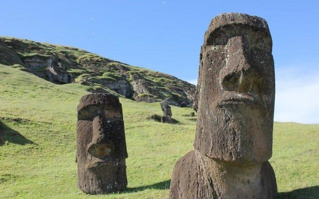 Bukti baru bertentangan dengan teori bahwa peradaban kuno Pulau Paskah runtuh