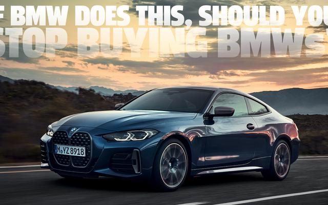 L'idée de plan d'abonnement aux nouvelles fonctionnalités de BMW doit être arrêtée avant de commencer