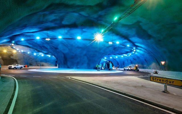 Ce magnifique tunnel sous-marin au Danemark réduira un trajet d'une heure à 16 minutes