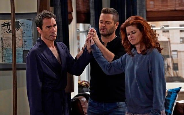 Nick Offerman aide Will & Grace à retrouver son rythme dans le premier épisode parfait de la saison 9